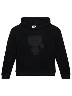 KARL LAGERFELD KARL LAGERFELD Sweatshirt Z25294 D Noir Regular Fit