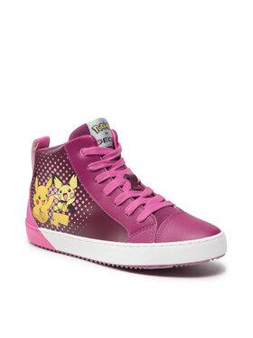 Geox Geox Sneakersy J Kalispera G. G J844GG 0BCBU C8070 DD Fialová