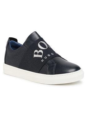 Boss Boss Sneakersy J29227 S Tmavomodrá