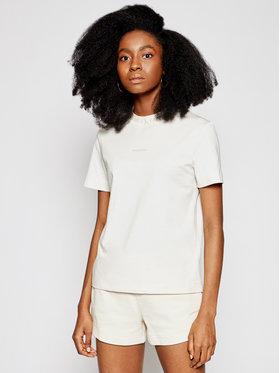 Calvin Klein Jeans Calvin Klein Jeans Marškinėliai J20J215500 Smėlio Regular Fit