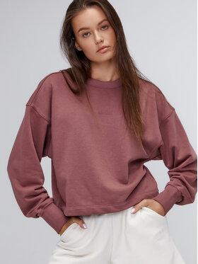Sprandi Sprandi Majica dugih rukava AW21-BLD008 Ružičasta Relaxed Fit