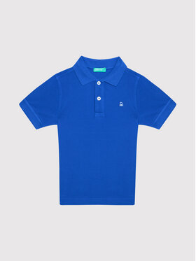 United Colors Of Benetton United Colors Of Benetton Polo 3089C3091 Granatowy Regular Fit