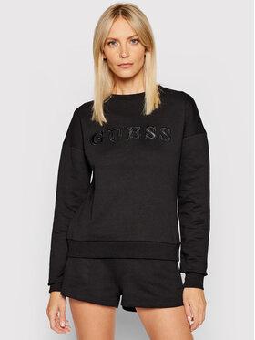 Guess Guess Bluză O1GA01 K68I1 Negru Regular Fit