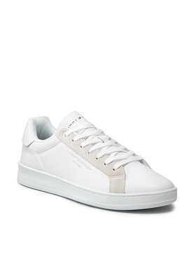 Tommy Hilfiger Tommy Hilfiger Sneakers Cupsole Court Leather FM0FM03627 Blanc