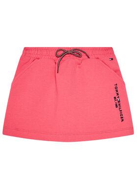 TOMMY HILFIGER TOMMY HILFIGER Spódnica Essential Knit KG0KG05325 M Różowy Regular Fit