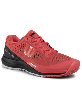 Wilson Wilson Παπούτσια Rush Pro 3.0 WRS326000 Κόκκινο