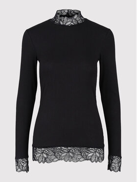 YAS YAS Блузка Elle 26024677 Чорний Regular Fit