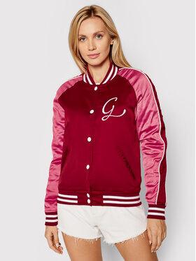 Guess Guess Μπόμπερ μπουφάν Tiffany W1YL83 WD1R2 Ροζ Slim Fit