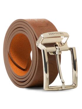 Trussardi Trussardi Cintura da uomo Belt H3,5cm Logo 71L00150 Marrone