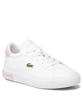 Lacoste Lacoste Сникърси Powercourt 0721 1 Suc 7-41SUC00141Y9 Бял