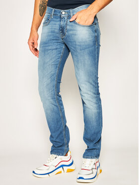 Baldessarini Baldessarini Straight Leg Jeans John 16511/000/1273 Blau Straight Fit