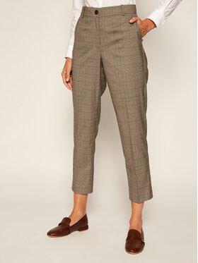 TOMMY HILFIGER TOMMY HILFIGER Pantalon en tissu Pow Check WW0WW28127 Gris Slim Fit