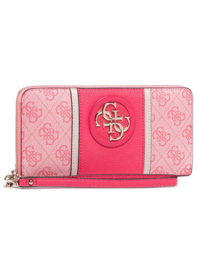 Guess Guess Portefeuille femme grand format Open Road (SS) Slg SWSS71 86460 Rose