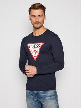 Guess Guess Marškinėliai ilgomis rankovėmis M0BI31 I3Z11 Tamsiai mėlyna Slim Fit