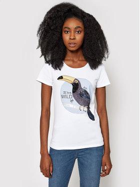 Liu Jo Liu Jo T-Shirt WA1321 J5003 Bílá Regular Fit