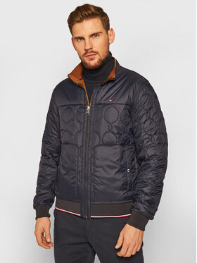 Tommy Hilfiger Tommy Hilfiger Bomber striukė Reversible Onion Quilted MW0MW14879 Spalvota Regular Fit