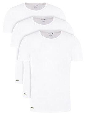 Lacoste Lacoste Set 3 tricouri TH3451 Alb Regular Fit