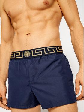 Versace Versace Plavecké šortky Greca ABU01022 Tmavomodrá Regular Fit