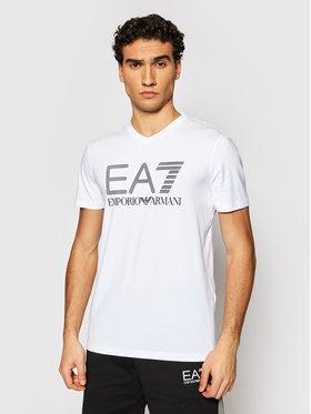 EA7 Emporio Armani EA7 Emporio Armani T-Shirt 3KPT57 PJ03Z 1100 Weiß Regular Fit