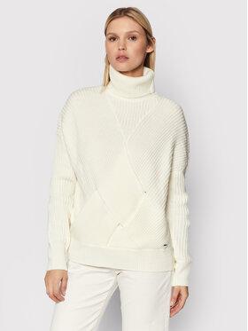 Pepe Jeans Pepe Jeans Rollkragenpullover Vivian PL701802 Weiß Regular Fit