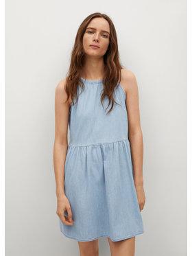 Mango Mango Sukienka jeansowa Candela 17080112 Niebieski Relaxed Fit