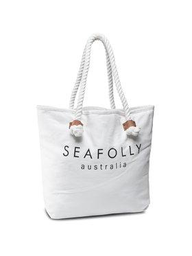 Seafolly Seafolly Сак Ship Sail Tote 71147-BG Бял