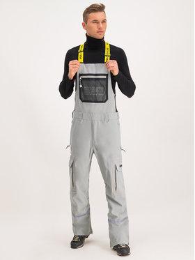 DC DC Lyžařské kalhoty EDYTP03040 Šedá Regular Fit