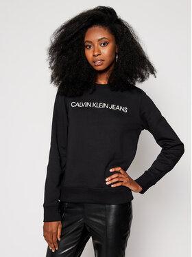 Calvin Klein Jeans Calvin Klein Jeans Pulóver J20J209761 Fekete Regular Fit