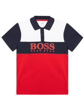 Boss Boss Polo J25L25 D Rosso Slim Fit