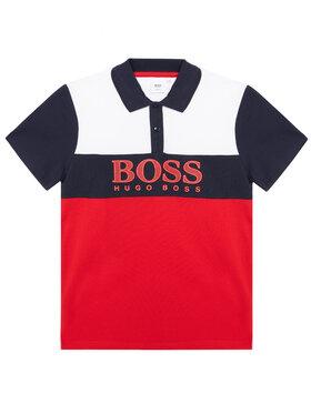 Boss Boss Pólóing J25L25 D Piros Slim Fit