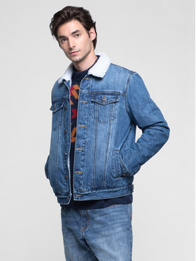Vistula Vistula Kurtka jeansowa Caesar XA0765 Niebieski Regular Fit