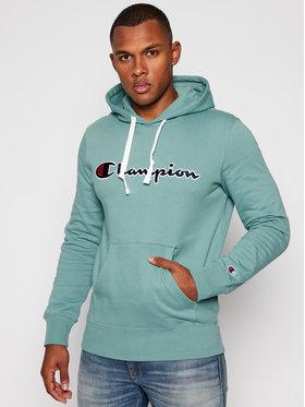 Champion Champion Sweatshirt Hooded 214718 Vert Custom Fit