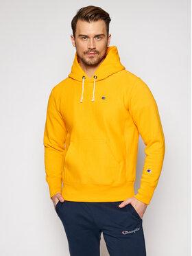 Champion Champion Суитшърт 214675 Жълт Custom Fit
