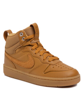 Nike Nike Schuhe Court Borough Mid 2 Boot (GS) BQ5440 700 Braun