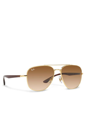Ray-Ban Ray-Ban Okulary przeciwsłoneczne 0RB3683 001/51 Brązowy