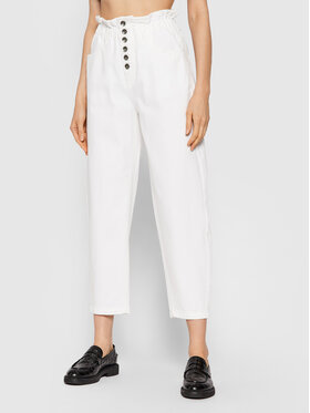 United Colors Of Benetton United Colors Of Benetton Farmer 4DUK57535 Fehér Relaxed Fit
