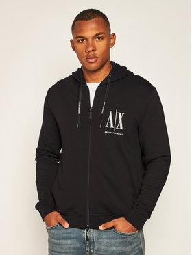Armani Exchange Armani Exchange Sweatshirt 8NZMPP ZJ1ZZ 1200 Noir Regular Fit