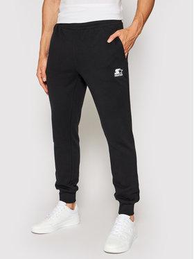 Starter Starter Teplákové nohavice SMG-007-BD Čierna Regular Fit