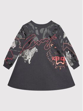 Kenzo Kids Kenzo Kids Φόρεμα καθημερινό K12056 Γκρι Regular Fit