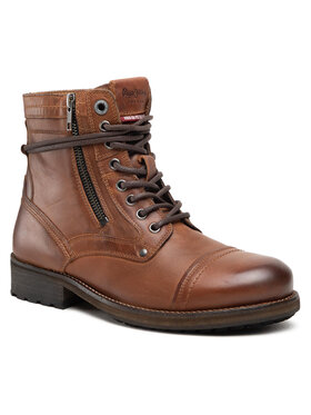 Pepe Jeans Pepe Jeans Stiefel Melting High PMS50206 Braun