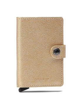 Secrid Secrid Malá dámska peňaženka Miniwallet MAq Zlatá
