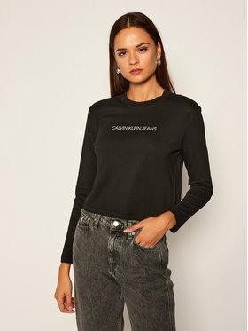 Calvin Klein Jeans Calvin Klein Jeans Μπλουζάκι J20J214992 Μαύρο Regular Fit