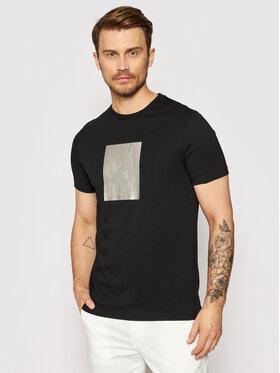 KARL LAGERFELD KARL LAGERFELD T-shirt Crewneck 755082 511224 Noir Regular Fit