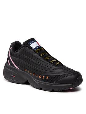 Tommy Jeans Tommy Jeans Sneakersy Heritage Runner EN0EN01513 Czarny