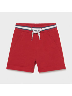 Mayoral Mayoral Short de sport 1212 Rouge Regular Fit