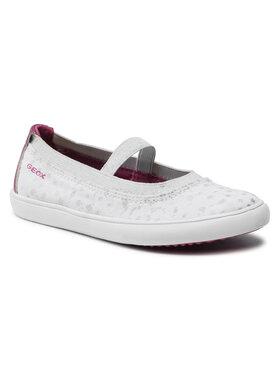 Geox Geox Κλειστά παπούτσια J Gisli G. A J154NA 010HI C0563 S Λευκό