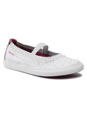 Geox Geox Обувки J Gisli G. A J154NA 010HI C0563 S Бял