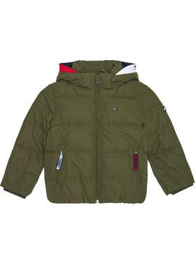 Tommy Hilfiger Tommy Hilfiger Pūkinė striukė Essential Padded KB0KB05982 M Žalia Regular Fit