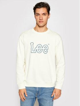 Lee Lee Sweatshirt Basic Crew Logo L80XSPNQ Beige Regular Fit