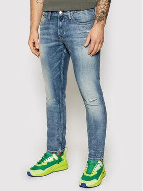 Tommy Jeans Tommy Jeans Džinsai Scanton DM0DM09883 Tamsiai mėlyna Slim Fit